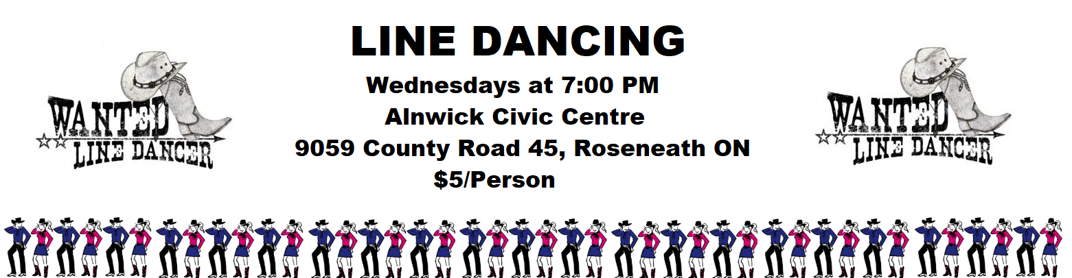 Line Dancing at the Alnwick Civic Centre