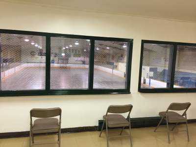 View to Ice Surface Haldimand Memorial Arena