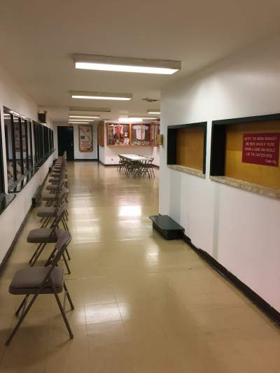 Haldimand Memorial Arena upstairs and Canteen