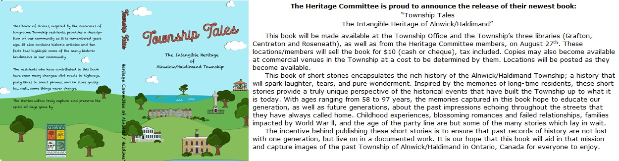Book, Township Tales now available and book cover